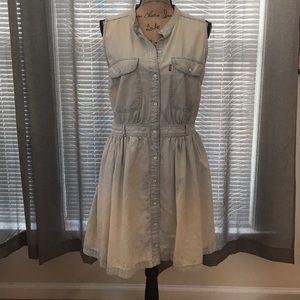 Levi's Light Denim Jean Dress, Sz. XL